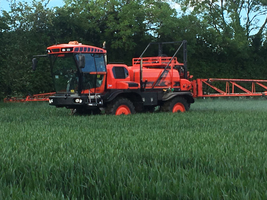 Crop Spraying Herefordshire